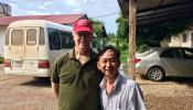 Dr. Barang Touk with Seva Program Director Dr. Ken Bassett