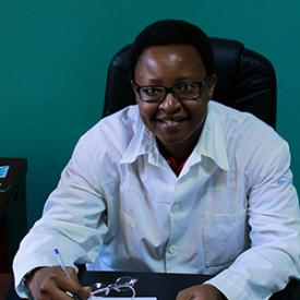 Seva Burundi Dr. Kandeke Photo