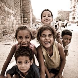 Egypt Children Image