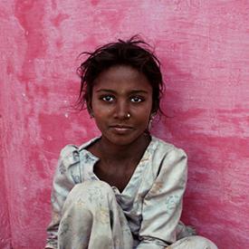 Girl in India Image