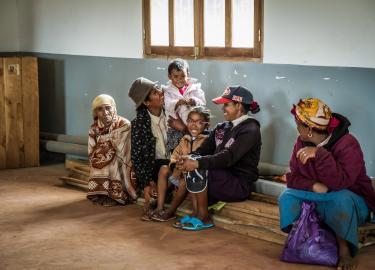 Malagasy family
